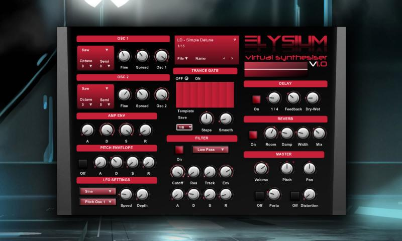 VSTi Bundle 1 - Synthinite & Elysium (32-bit)